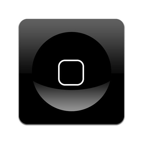 phone icon. part of a iphone icon set