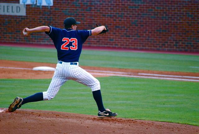 college baseball: uva @ unc, game 2