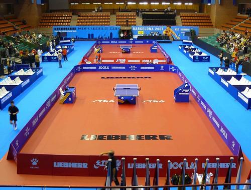 Copa del Mundo de tenis de mesa Barcelona 2007