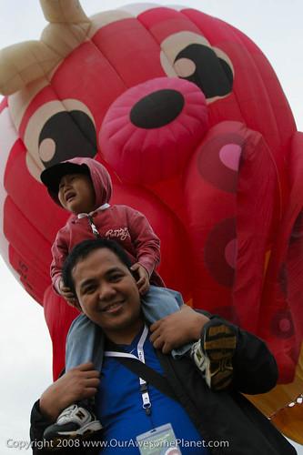 Hot Air Balloon launch-7