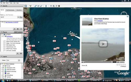 YouTube Google Earth