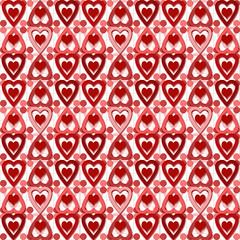 Valentine Heart Pattern #1A