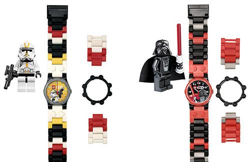 relojes lego-star wars