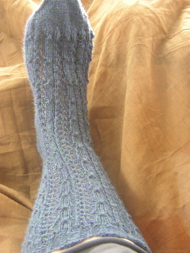 Fancy silk sock 3