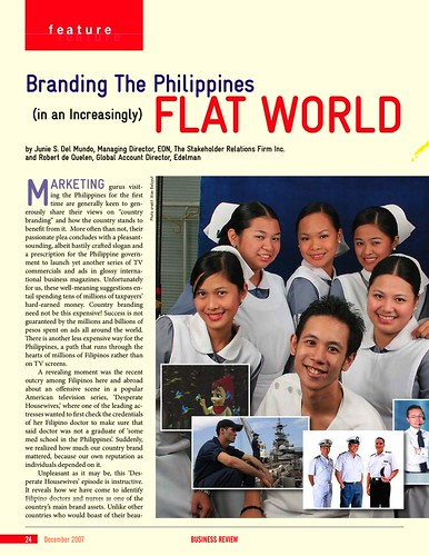 Random Thoughts on Branding the Philippines • Our Awesome Planet
