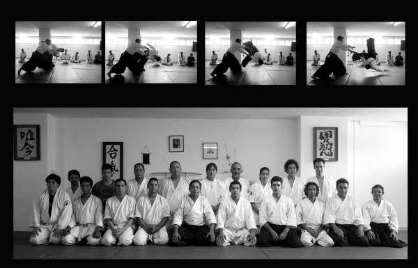Cl�nica de Aikido - Dojo El Para�so