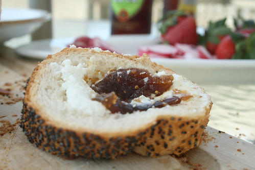 goat cheese & figs
