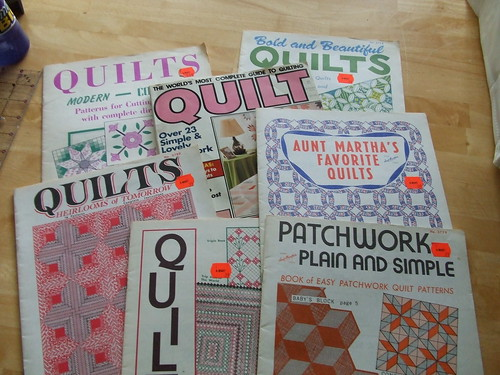 Quilt Pattern books from Grandma