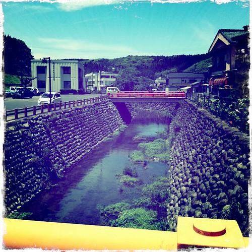 Kirishima-jingu station bridge