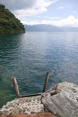 I'm going for a swim (Lake Atitlan)