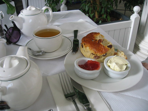 Afternoon Tea, Orangery, Kensington Palace, London