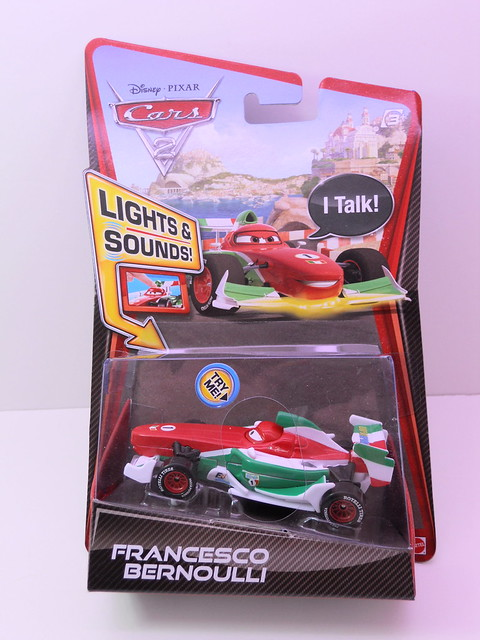 disney cars 2 lights and sounds francesco bournelli