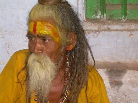 Saddú en Varanasi