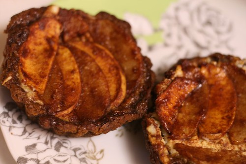 Ginger Apple Pear Tartlet