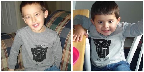 Autobot shirts