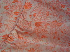 Vintage cotton woven fabric