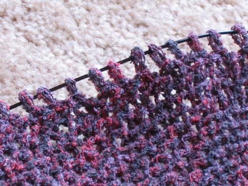 Mum's Rib Warmer corner detail