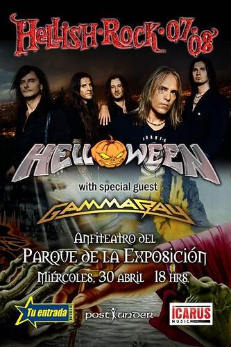 Helloween y Gammaray en Lima Peru