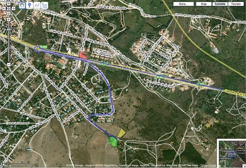 Mapa Mangola 2008 en Google Maps