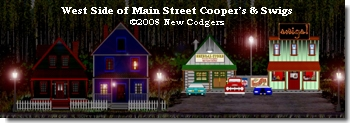 West Side of Main Street Cooper's & Swigs ©2008 New Codgers