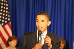 Barack in Cedar Rapids, IA 10/29/07