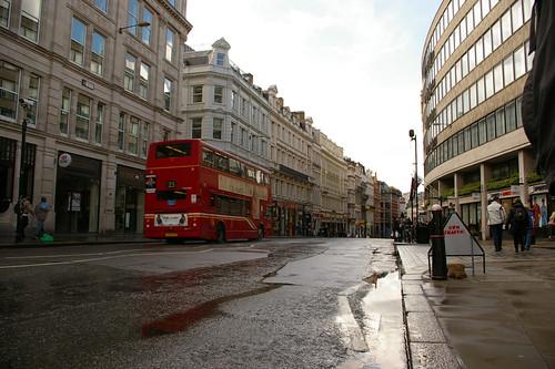 Bus in Fleet Street