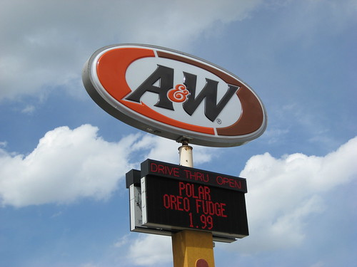 Sometimes You Need to Make a Fresh A&W Root Beer Run
