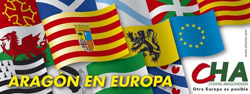 Imagen de CHA en la campaña electoral al Parlamento Europeo 2004