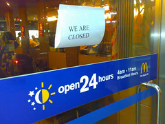 open but closed
