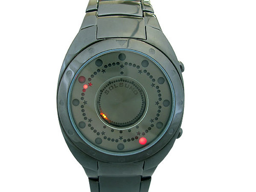 solsuno zeon titanium wristwatch