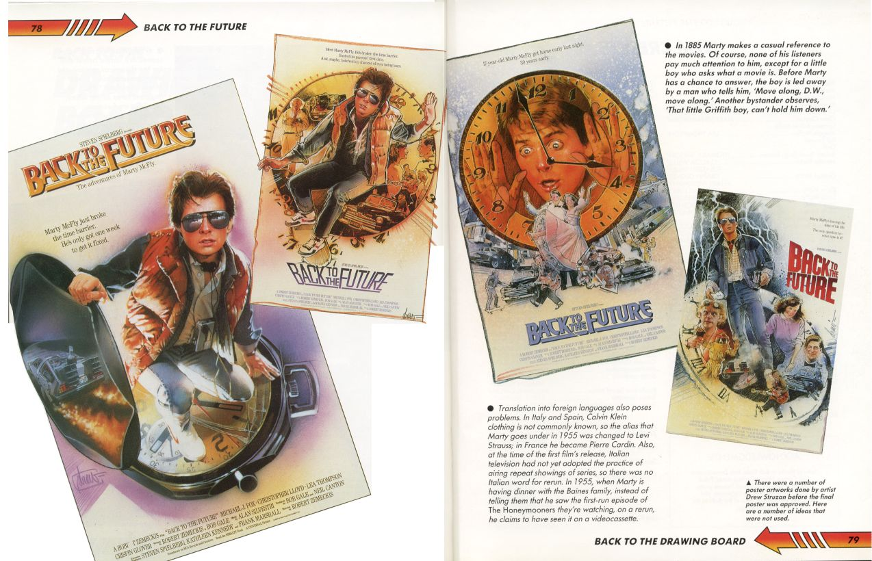 BTTF poster concepts