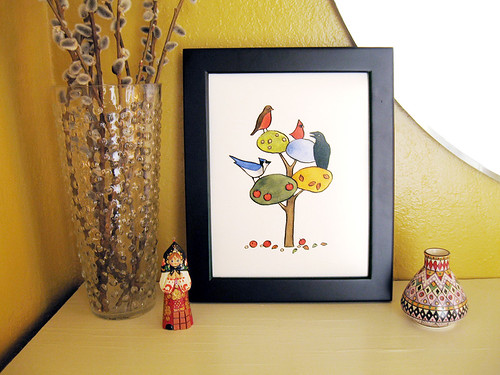 A Bird for All Seasons print.