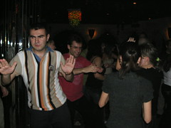 Mamedjarov dancing with Aronian