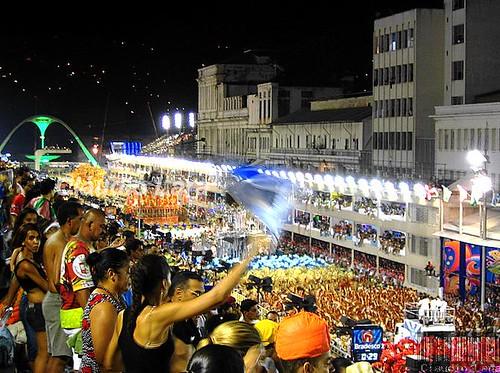 Carnaval do Brasil - Beija-flor - Carnival in Rio - Brazil