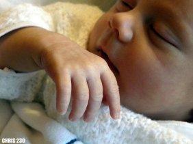 Un beau bébé tout neuf