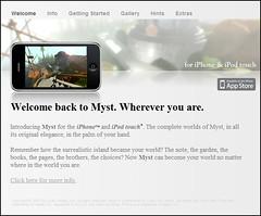 Cyan-iPhone Web Site