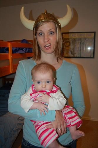 Arrg!  I'm a Viking Mommy