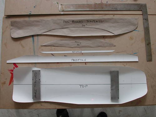 shaping a foam mold ministry of wood skateboard builder directory