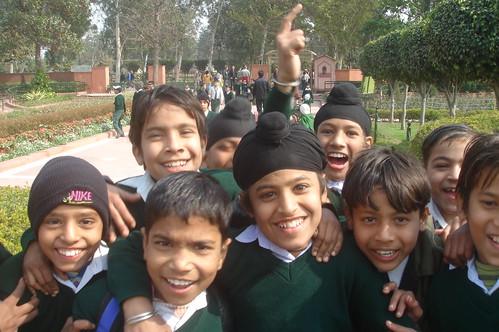 Raj Ghat甘地紀念碑1-4熱情的�生