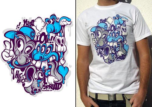 lovspread T-Shirt by Paulo Arraiano