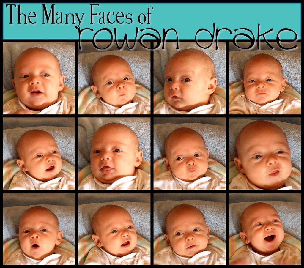 The Many Faces of Rowan Drake