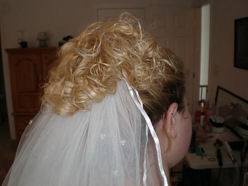 Back of Wedding Hair