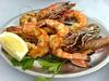 Doca do Cavacas - grilled prawns