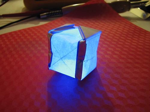 Circuitry Paper Origami