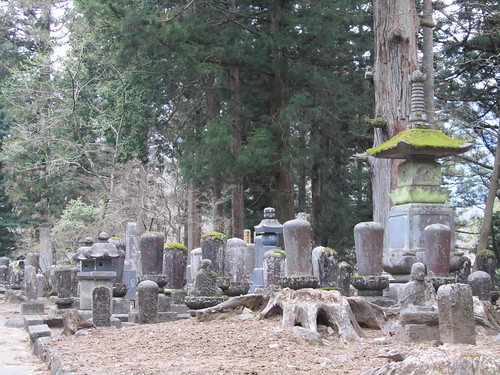 Graveyard of Rinnoji Monks