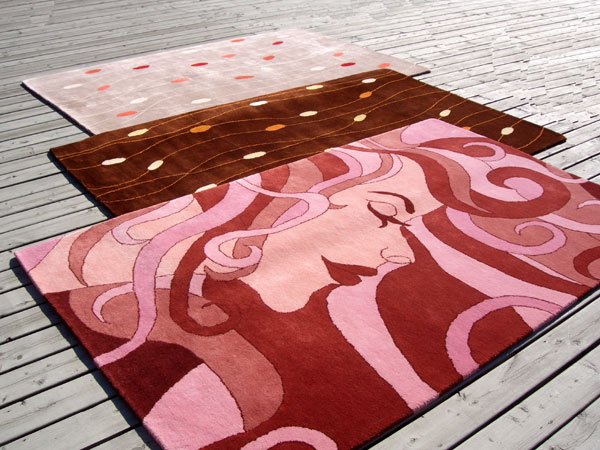 Judit Gueth {new} Wallpaper Designs + Rugs