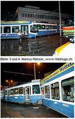 Tram Crash Zürich