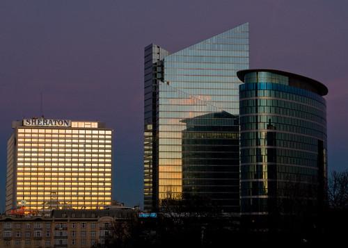 Brussels' skyline