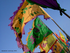 Tin Hau Temple Flags