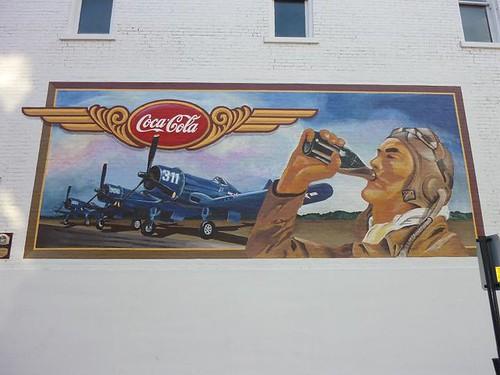 IL, Pontiac 47 - CocaCola mural